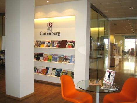 Afgreiðsla og skrifstofur, Gutenberg